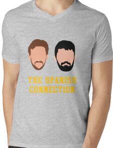 Nikola and Pau Mens V-Neck T-Shirt