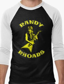 Randy Rhoads Colour Men's Baseball ¾ T-Shirt