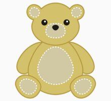 Baby Bear Sticker Cute Teddybear for Yellow Nursery by StickerStore