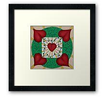 Mandala No. 8: Love Framed Print