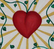 Mandala No. 8: Love Sticker
