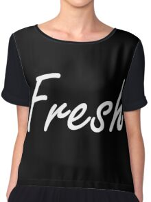 Fresh Chiffon Top