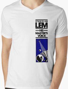 HMV Mens V-Neck T-Shirt