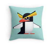 Rockhopper Penguin Throw Pillow
