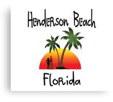 Henderson Beach Florida Canvas Print