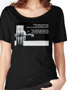 All That Anger, Fear, and Negative Energy Women's Relaxed Fit T-Shirt