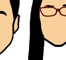 Sheldon & Amy 'Earworm' Sticker
