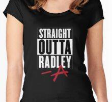 Straight Outta Radley Women's Fitted Scoop T-Shirt
