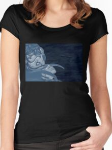 Lady Ice 02 Women's Fitted Scoop T-Shirt