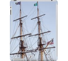 Tall Ship Rigging iPad Case/Skin