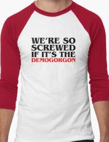 Demogorgon A Men's Baseball ¾ T-Shirt