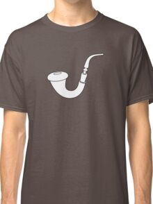 Calabash Pipe - Outline drawing Classic T-Shirt