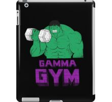 gamma gym iPad Case/Skin