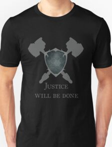 Overwatch - Justice will be Done Unisex T-Shirt