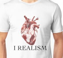 Heart I Love Realism Unisex T-Shirt