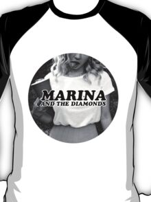 Marina and the Diamonds Circular Cut Logo T-Shirt