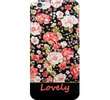 Lovely Flower Case  iPhone Case/Skin