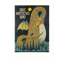 Dave Matthews Band  - Performing Arts Center Saratoga, Springs NY 2016 Art Print