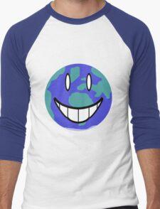 One Happy Little Planet Men's Baseball ¾ T-Shirt