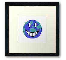 One Happy Little Planet Framed Print