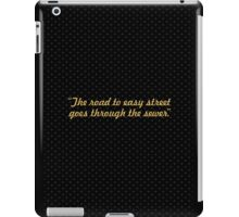 """The road to easy street... """"John Madden"""" Inspirational Quote iPad Case/Skin"""