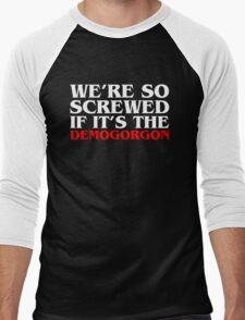 Demogorgon B Men's Baseball ¾ T-Shirt
