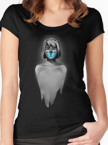 I'm the ghost in the back of your head Women's Fitted Scoop T-Shirt