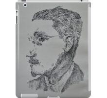 James Joyce - Portrait of the Irish Writer  iPad Case/Skin