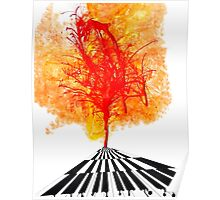 THATS WHAT KEYS SAID - Abstract Trees Poster