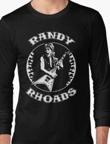 Randy Rhoads (Flames) Long Sleeve T-Shirt