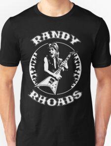Randy Rhoads (Flames) Unisex T-Shirt