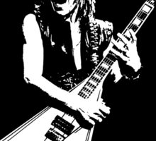 Randy Rhoads (Flames) Sticker