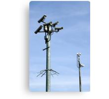 CCTV Security cameras Canvas Print