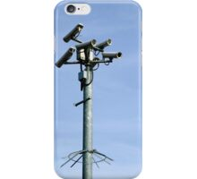 CCTV Security cameras iPhone Case/Skin