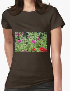 Flowers - 5 Womens Fitted T-Shirt