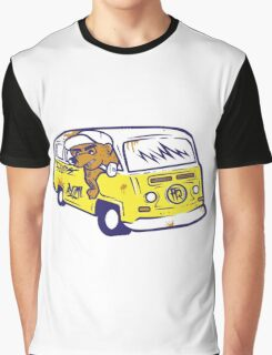 VINTAGE CAR BEER Graphic T-Shirt