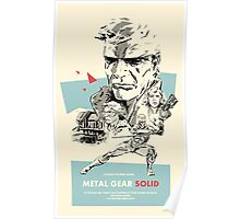 Meta Gear Solid Poster