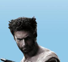Pastel Blue Wolverine  Sticker