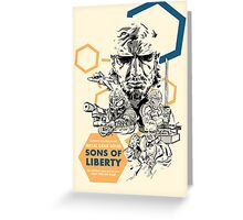 Metal Gear Solid 2: Sons of Liberty Greeting Card