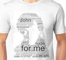 Sherlock Best Man Speech Unisex T-Shirt