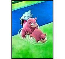 Pokemon Go Bang SlowBro Slowpoke Meme Photographic Print