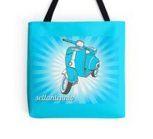 Blue VESpa Special Tote Bag