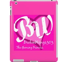 BrokenWings303 Logo iPad Case/Skin