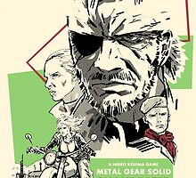 Metal Gear Solid 3: Snake Eater by Cleanlined