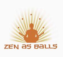 """""""Zen as balls"""" Kids Clothes"""