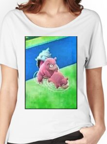 Pokemon Go Bang SlowBro Slowpoke Meme Women's Relaxed Fit T-Shirt