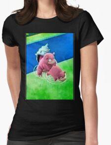 Pokemon Go Bang SlowBro Slowpoke Meme Womens Fitted T-Shirt