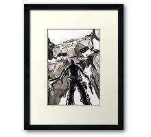 Metal Gear Rex Framed Print