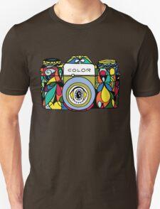 Colorful Camera  Unisex T-Shirt