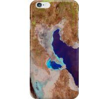 Great Salt Lake Utah Satellite Image iPhone Case/Skin